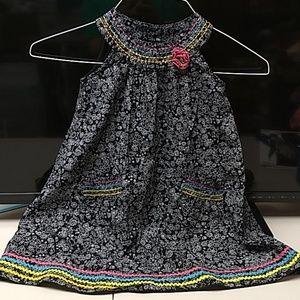 "Girls Dress size 5 ""blueberi boulevard"""